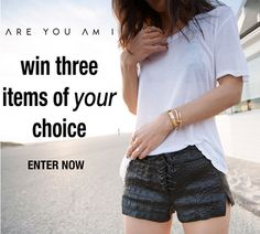 Win three ARE YOU AM I items of your choice in our starter kit sweepstakes!