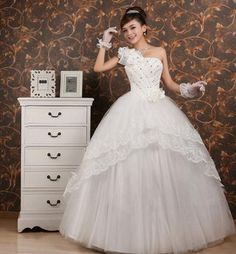 2013 new shoulder wedding gowns on AliExpress.com. $49.80
