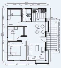 Planos de viviendas prefabricadas de 3 dormitorios #modelosdecasasdedospisos