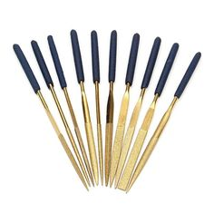 10 Piece Diamond Coated Needle File Set - Jewelry Making Tools - Wood - Glass - Ceramics - Metal - Wax Carving - Sculpting Ships From USA. Needle Files Jewelry Making Glass Ceramic, Wood Glass, Needle File, Wax Carving, Jewelry Making Tools, Stone Jewelry, Wood Crafts, Jewelry Crafts, Ceramics