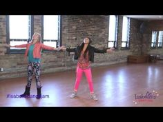 Isabelle's Dance Jam - Learn Each Move - on the American girl of the year part of the American girl website, I hope these tutorials are part of the DVD it would be sad to have it go away at the end of this year its a fun way for girls to be active, I love this dance it's the best dance workout ever