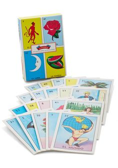 Oh my god, these are the cutest. Brings back memories! Game Night Invites Notecard Set, @ModCloth
