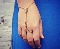 arrow slave bracelet arrow hand chain arrowhead bracelet