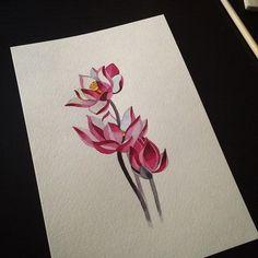 Pink Flowers tattoo idea | Best Tattoo Ideas Gallery