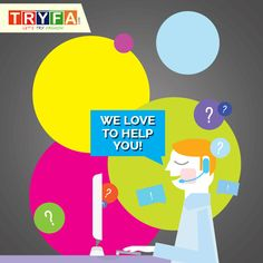 For any query, write us at care@tryfa.com  #Tryfa #CustomerSupport #StayConnected