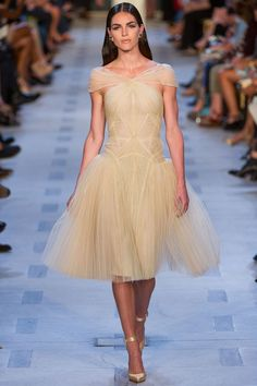 Zac Posen Spring 2013 Ready-to-Wear Fashion Show - Hilary Rhoda