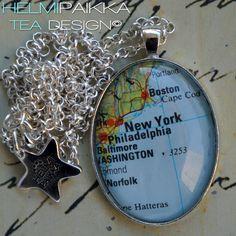 #tilaustyö #karttakoru #NewYork <3