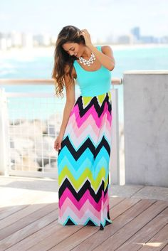 62f1376eb29 Buy this lovely Mint Chevron Maxi Dress from Saved by The Dress Boutique  now! Beautiful mint maxi dress with multi color chevron print bottom.