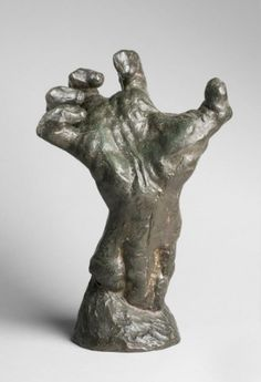 Auguste Rodin (1840 – 1917) The Clenched Hand modeled circa 1885 cast 1925 by founder Alexis Rudier Paris