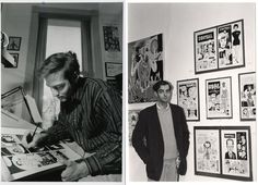 Daniel Clowes (comic book / graphic novel creator and artist - Ghost World)