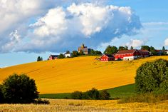 Kirka og landskapet | Flickr - Photo Sharing!