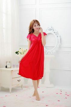 free shipping girl's Nightgowns & Sleepshirts sleepwear female summer nightgown sexy sleepwear nightgown silk sleepwear   http://www.dealofthedaytips.com/products/free-shipping-girls-nightgowns-sleepshirts-sleepwear-female-summer-nightgown-sexy-sleepwear-nightgown-silk-sleepwear/