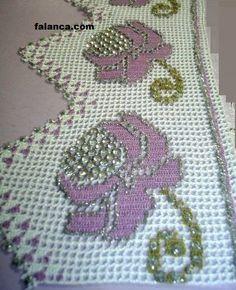 havlu kenarı dantel modelleri