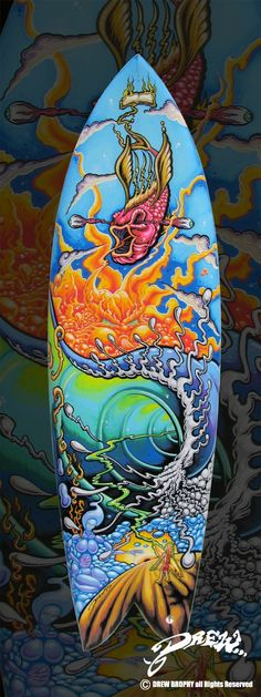 Surfboards by Drew Brophy aka the amazing uncle of my amazing friend!