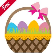 Free Egg Basket  Zip Folder Contains:    1 SVG Cut File.  1 DXF Cut File.  1 GSD Cut File.  1 MTC Cut File.  1 .studio Silhouette Cut File.