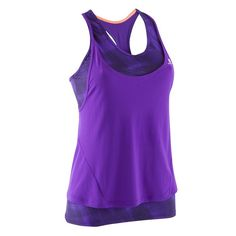 d8e75c09a17a6 Deportes Fitness - CAMISETA SM 2 EN 1 TRANSPIRABLE MUJER