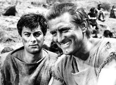 Next to 'Some Like It Hot,' Tony Curtis is also famous for his role opposite Kirk Douglas in 'Spartacus.' He played Antoninus, a former children's tutor from Sicily. He famously brought his Bronx accent to the role.
