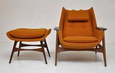 Mid Century Modern Chaise Lounge In The Style Of Adrian