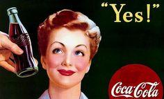publicidades antiguas coca cola - Buscar con Google