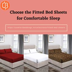 A good night sleep depends on lots of factor including mattress, pillow, environment and bed sheets. You will surely get irritable when you lack sleep. You need to choose right bed sheets on your bed. Select the elastic fitted bed sheets from our online store that is made up 100% cotton with 600 & 1000 TC. Visit online today and get the online cotton fitted sheets for comfortable sleeping. King Size Bed Sheets, Double Bed Sheets, Fitted Bed Sheets, Yellow Bedding, Black Bedding, Most Comfortable Sheets, Bed Sheets Online, Egyptian Cotton Bedding, Water Bed