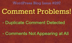 """How to stop that """"Duplicate Comment Detected - It looks like you already said that"""" message from happening."""