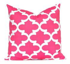 Pillow Decorative Pillow Hot Pink Throw Pillow by FestiveHomeDecor, $15.00 Fynn Premier Prints Baby Girl Nursery Decor Pink Cushions
