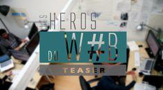 LES HEROS DU WEB TEASER1 Découvrez Les Héros du Web, le nouveau rendez vous vidéo de Presse citron autour du numérique