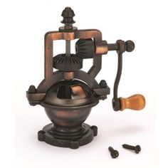 Buy Antique Style Hand Crank Pepper Grinder Kit Mechanism at Woodcraft.com