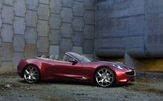 Fisker Sunset...I want one!