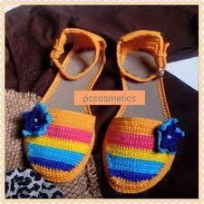 19686efb14c Resultado de imagen para zapatos tejidos Sandalia Tejida, Sandalias,  Escarpines Tejidos, Tejidos De