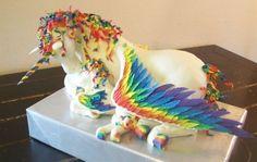 Fondant Unicorn Tutorial Cake Toppers