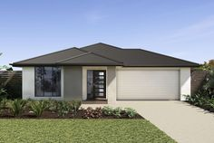 Available on the Carmelle: Miller façade representative of the Retreat Roof Colors, Front Entrances, New Home Designs, Future House, Facade, Beautiful Homes, Gazebo, Hampton Style, New Homes