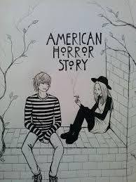 Resultado de imagen para american horror story dibujos tate