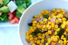 poblano corn salsa