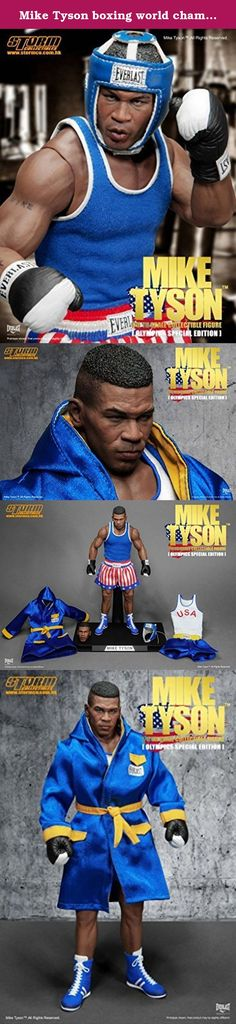 Mike Tyson boxing world champion amateur Olympic Special Edition figure 1/6. It's shipped off from Japan.