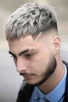 Modern Caesar Haircut ❤ The Sexiest Mens Hairstyles To Pull Off ❤ Stylish Mens Haircuts, Cool Hairstyles For Men, Haircuts For Men, Bob Hairstyles, Mens Grey Hairstyles, Barber Haircuts, Ladies Hairstyles, American Hairstyles, Hairstyle Men