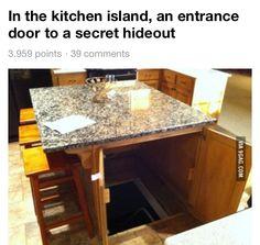 Secret Bookcase Door Under Stairs Http Www Stashvault