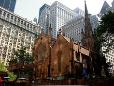 Article on Trinity Cathedral in NYC