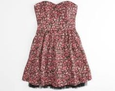 Hot summer dress; great for a date; attention grabber