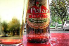 polar beer, made in estrela