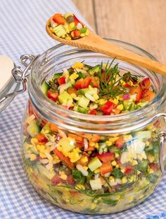 Sweet lupins salad with Dijon mustard and dill vinaigrette - can sub beluga lentils for the lupin beans...