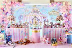 Carousel Birthday, Carousel Party, 1st Birthday Themes, Circus Birthday, Birthday Decorations, Carnival Themed Party, Carnival Birthday Parties, Carnival Themes, Circus Theme