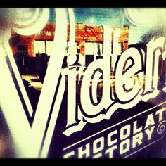 Videri Chocolate Factory...Downtown Raleigh.  Worth the trip for a coffee and chocolate!