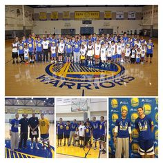 The first-ever #SplashBrothers basketball clinic, benefiting the #Warriors Community Foundation, was a huge success. Thank you Steph, Klay, Dell, Mychal, Kaiser Permanente and everyone who attended!
