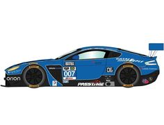 The Scalextric Aston Martin Vantage GT3 - Daytona 24hr 2015 is a slot car from the Scalextric Road and Rally car range.