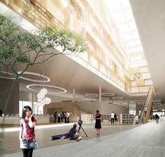SHL architects wins library competition in China