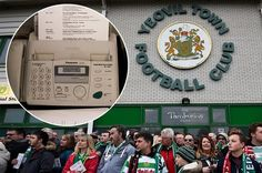 Yeovil Town destroy their fax machine as Transfer Deadline Day...: Yeovil Town destroy their fax machine as Transfer… #Transferdeadlineday