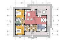 Model Compact House, Home Goods, House Plans, Floor Plans, How To Plan, Amazing Houses, Arrow Keys, Close Image, Model