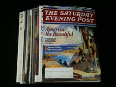The Saturday Evening Post Magazines Lot 14 1982 by RHWTreasures, $29.95