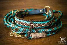 Set: Halsband & Leine | © Jill Peters #dogdiy
